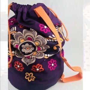 Vera Bradley Laundry Bag | Safari Sunset RETIRED
